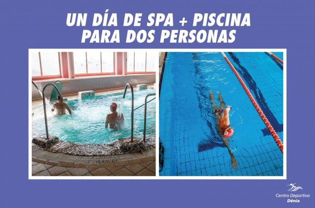 Imatge: Mega Cistella de Nadal 2019 - Centre Esportiu Dénia - Un dia de spa + piscina per a dues persones