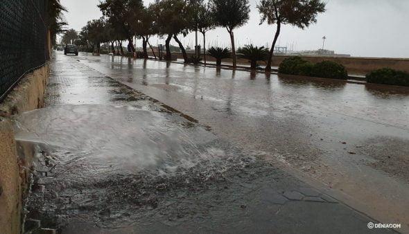 Imatge: Dénia es recupera després de les primeres precipitacions