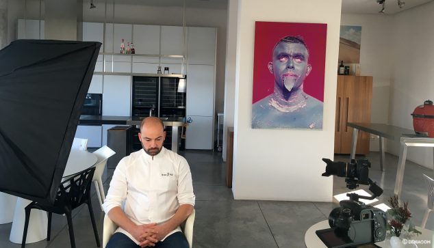 Imagen: Entrevista al chef Bruno Ruiz