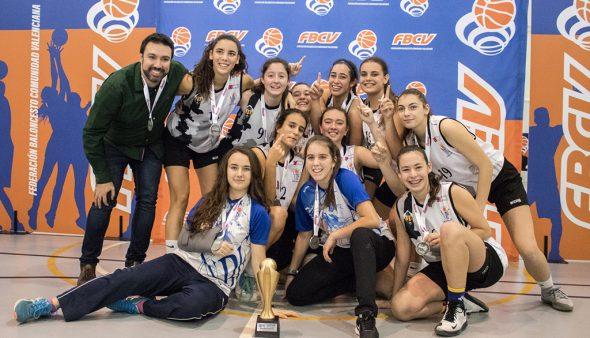 Bild: Team NBF Castelló mit dem Pokal