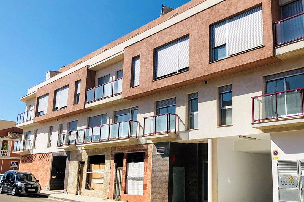 Façana de pisos en venda a Ondara - Mare Nostrum Immobiliària