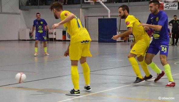 Imagen: Ferrán y Juanjo presionando a un rival