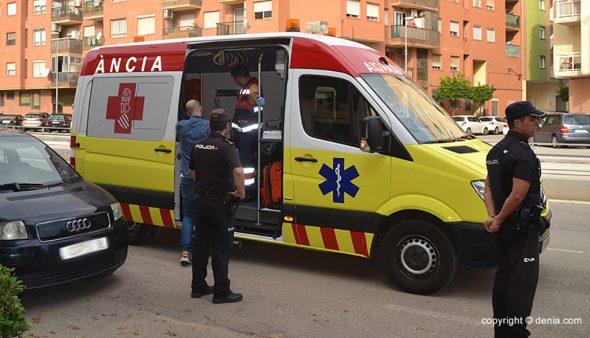 Imagen: Foto de archivo de una ambulancia