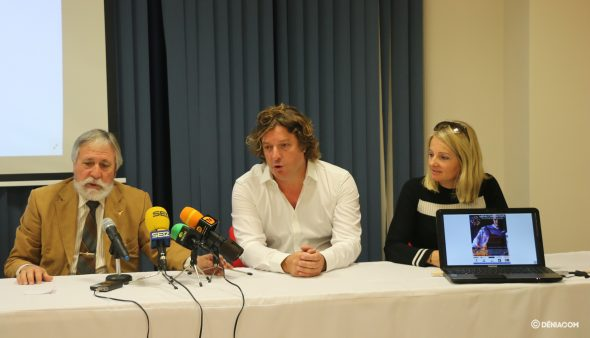 Bild: Jelle Van Burik erklärt die Initiative