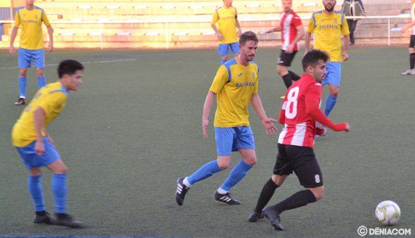 Imatge: Jordi pressionant un rival