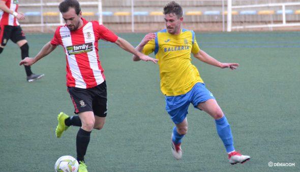 Imagen: Jordi pugnando por un balón