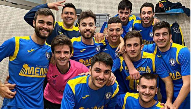 Image: Dianense players celebrating victory