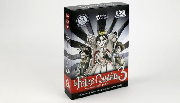 Image: The box of La Fallera Calavera 3