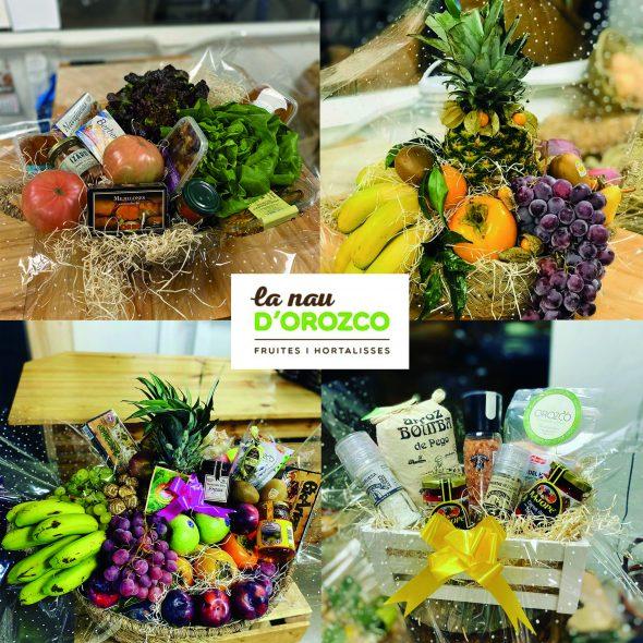 Imatge: La Nau d'Orozco - Cistelles de fruites per a particulars i per a empreses
