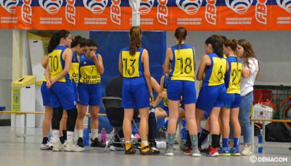 Bild: Dénia Basketball Junioren während einer Auszeit