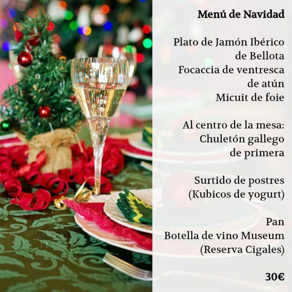 Imagen: Menú para el Día de Navidad en Bodega Del Puerto