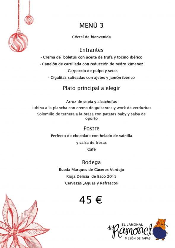 Imagen: Menú de empresa, opción 3 - El Jamonal de Ramonet