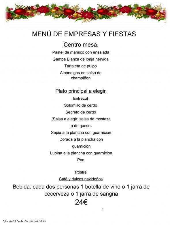 Imatge: Menú per a empreses i per a grups a Taverna Sevillana