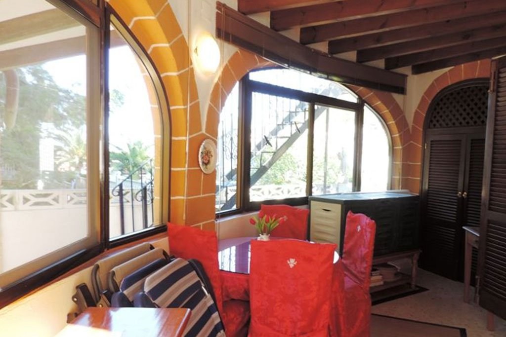 Terrassa coberta en un xalet en venda a Dénia - Euroholding