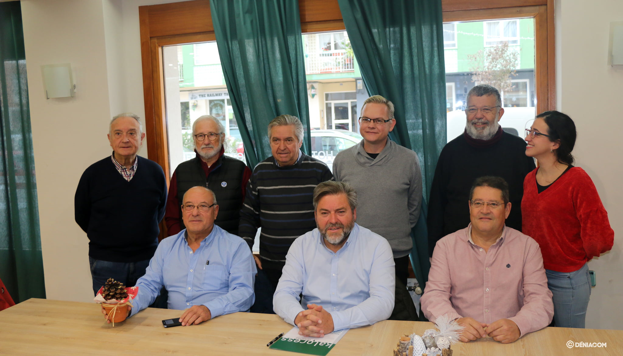 Representants de Compromís per Dénia
