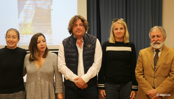 Bild: Vertreter des Les Rotes Centers, des Republic Restaurants und von Marina de Dénia
