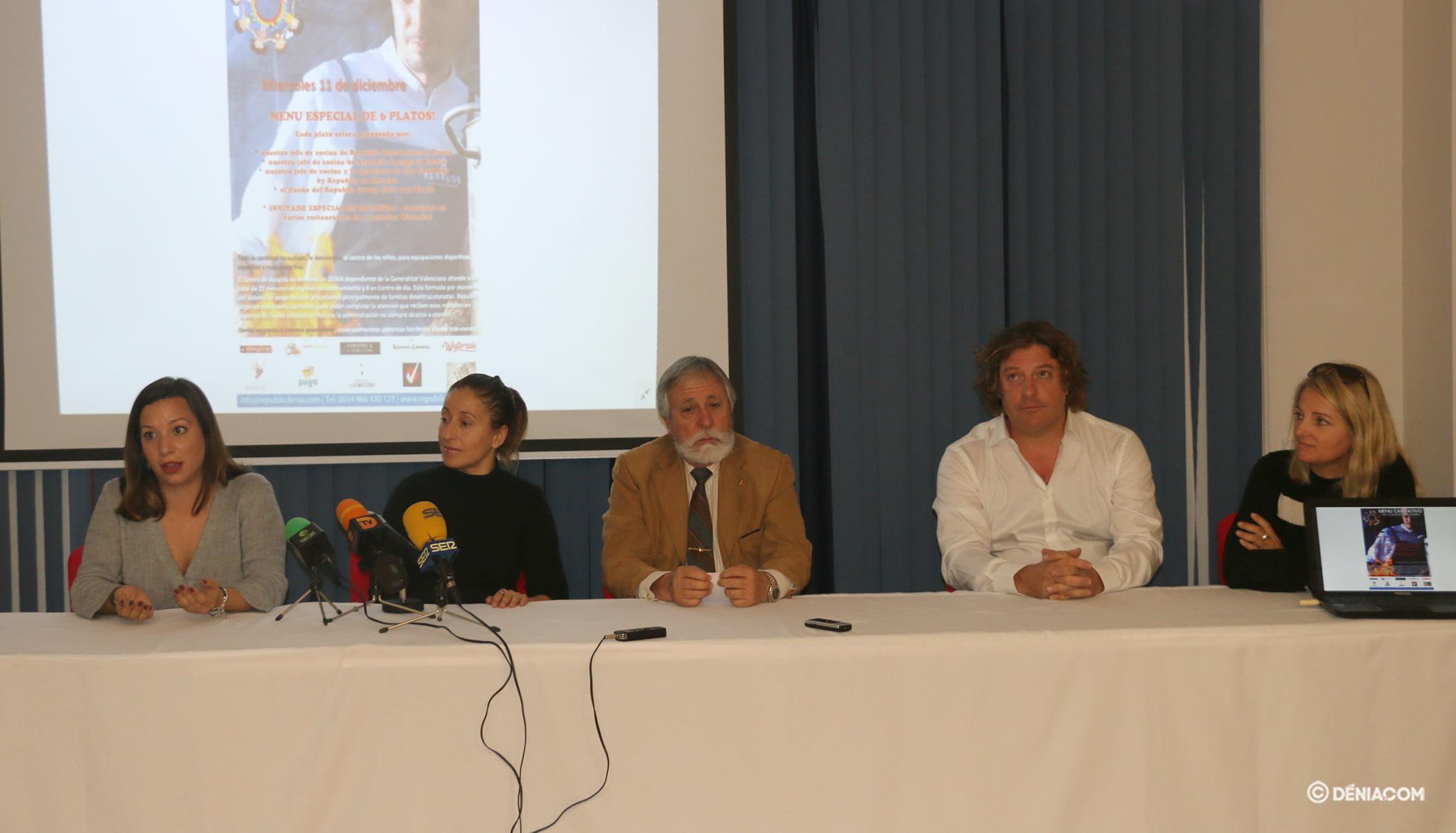 Работники центра Les Rotes поблагодарили мероприятие