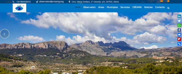 Image: Observatori Marina Alta website
