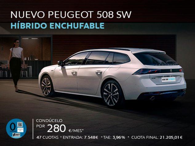 Imatge: Peugeot 508 híbrid endollable - Peumóvil
