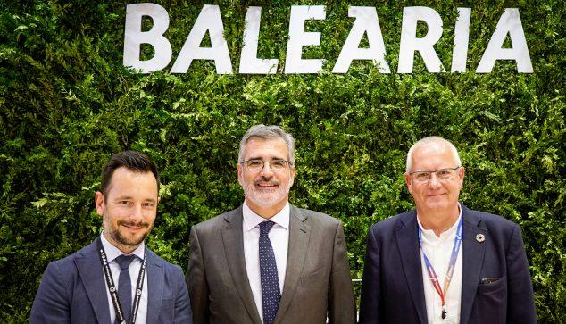 Imagen: Alianza de Baleària con Dénia y Eivissa