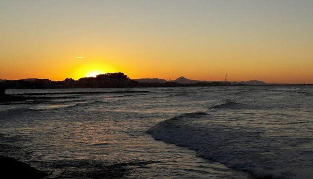 Imatge: Capvespre a la costa deniera