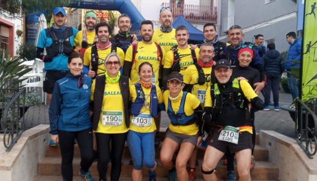 Imagen: Atletas del Dénia Corre en Lliber