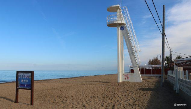 Image: Blay Beach la veille