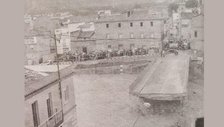Caiguda de el pont de Beniarbeig en 2007 (Foto: Canfali Marina Alta)