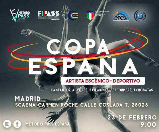 Image: Poster of the Spanish Cup to which the Dénia Dance Academy is presented by Miguel Ángel Bolo - Dénia Sports Center