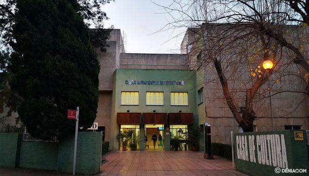 Imagen: La Casa de la Cultura de Dénia, sede durante 44 años (1975-2019) de la Biblioteca Municipal