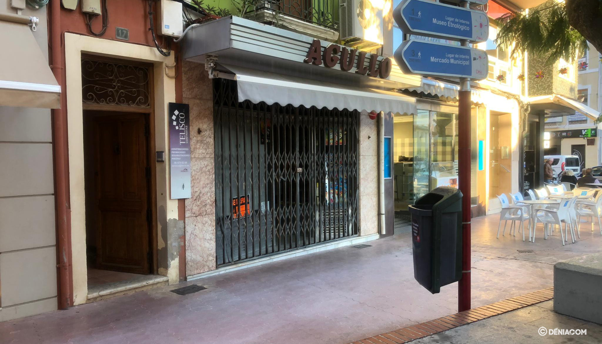 Closing of the pastry shop AgulloÌ