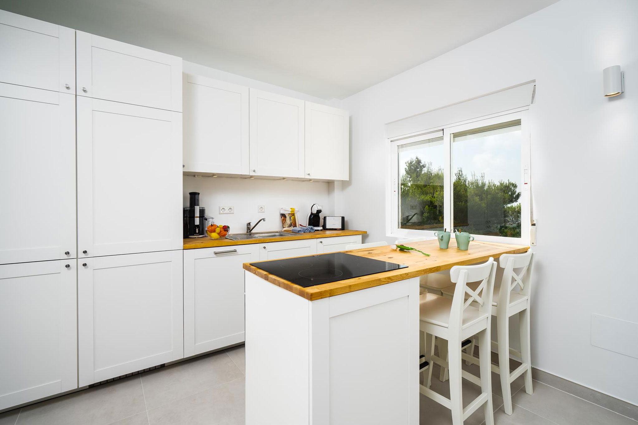 Американская кухня в апартаментах в аренду на время отпуска в Дения - Aguila Rent a Villa