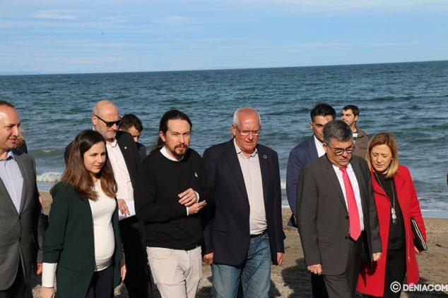 Imagen: El vicepresidente del Gobierno visita Dénia tras el temporal