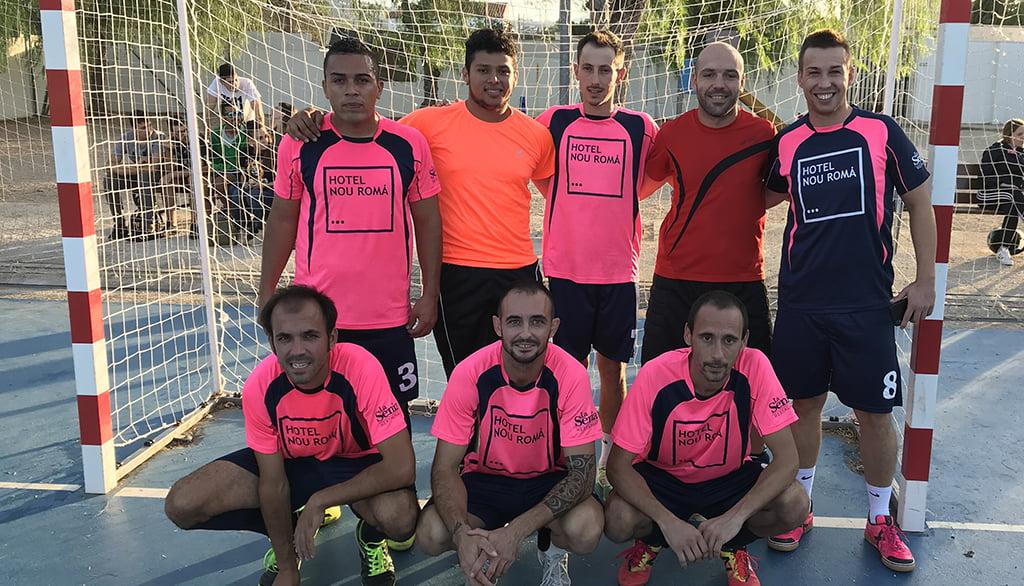 Hotel Nou Romá team