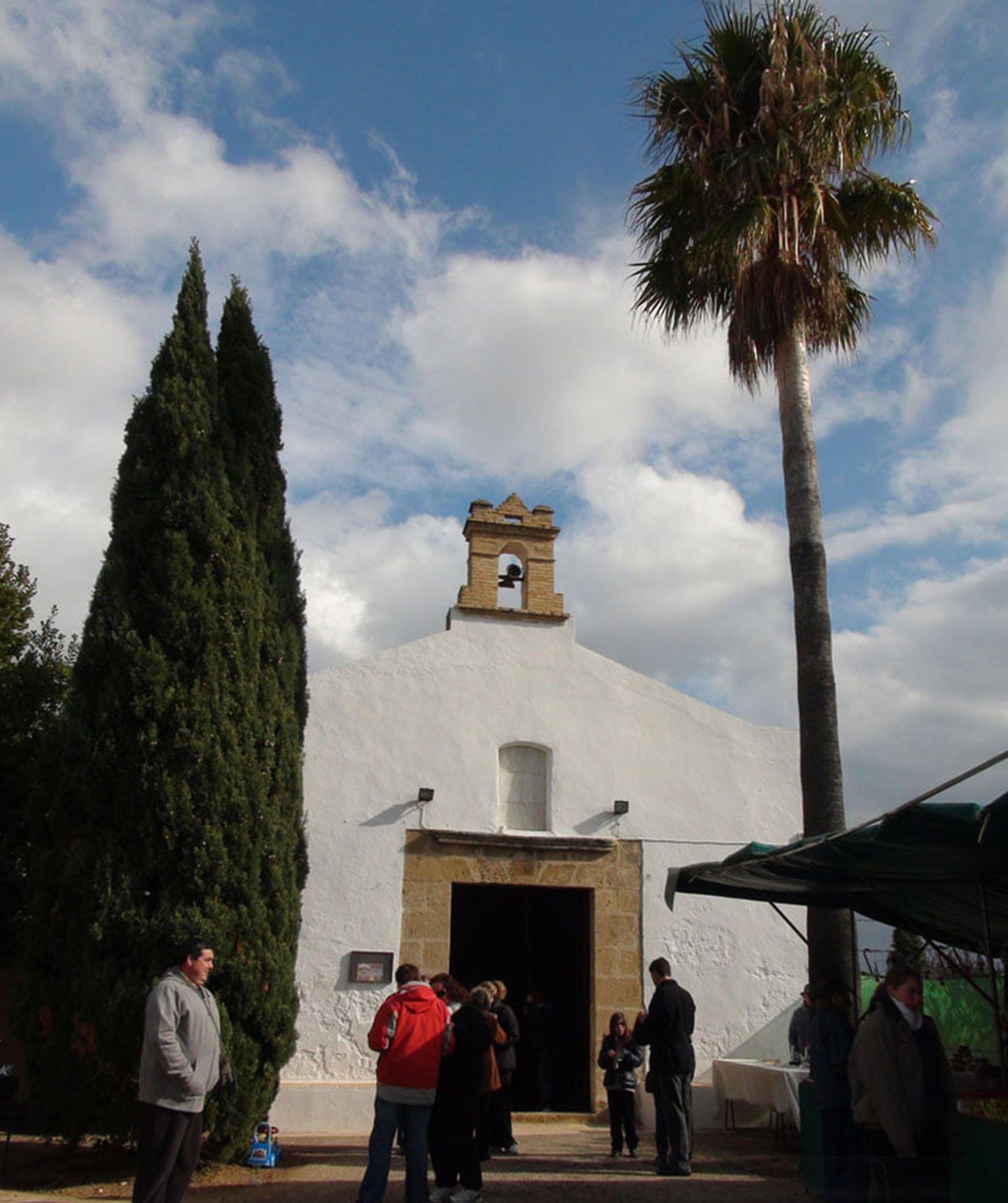 Fachada de la Ermita de Santa Paula de Dénia