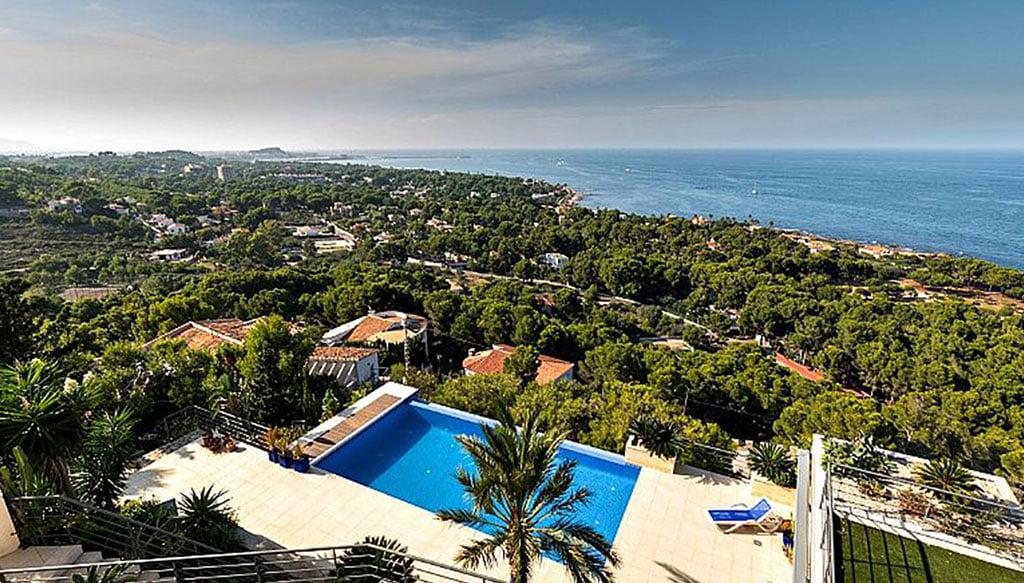 Espectaculars vistes a la mar des d'una casa exclusiva en venda - Euroholding