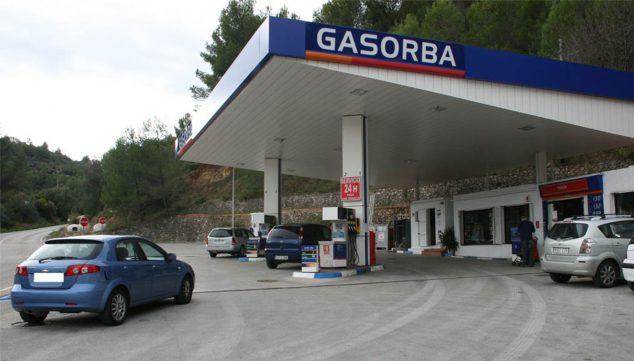 Imagen: Estación de servicio Gasorba