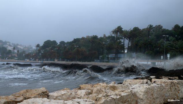 Imatge: La Marineta durant el temporal