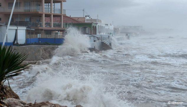Image: Les Deveses en pleine tempête