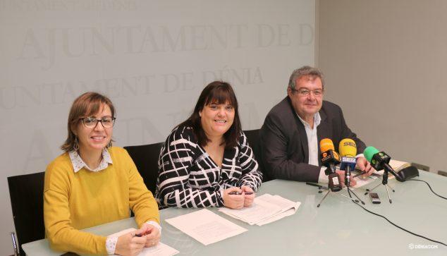 Imagem: Os conselheiros Ripoll, Morera e Roselló apresentam os orçamentos para 2020