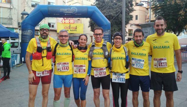 Image: Participants in the Almèdia Trail