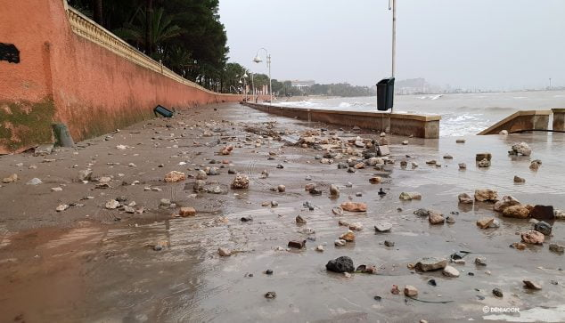 Image: Marineta monte après la tempête