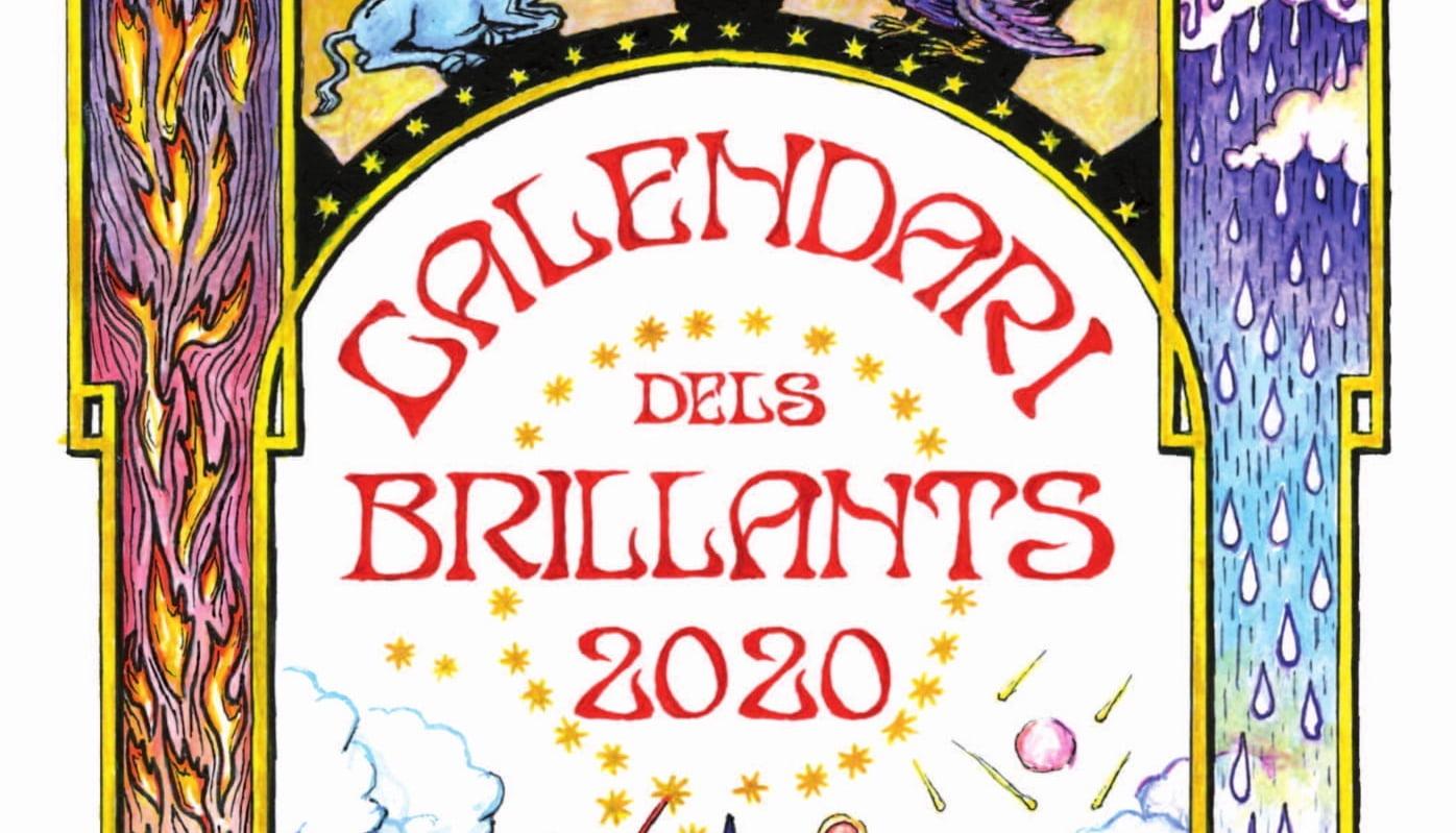 Presentazione di copertina Calendari dels Brillants