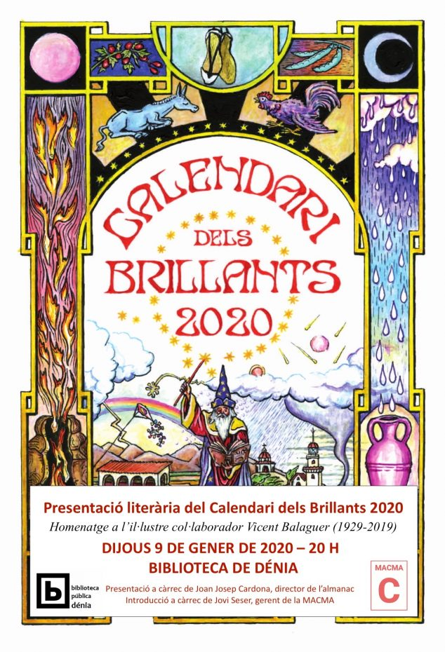 Image: Présentation du Calendari dels Brillants 2020