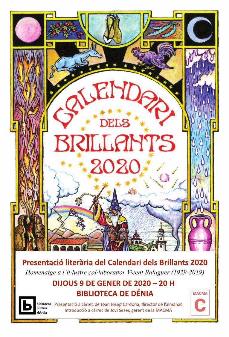 Presentazione del Calendari dels Brillants 2020