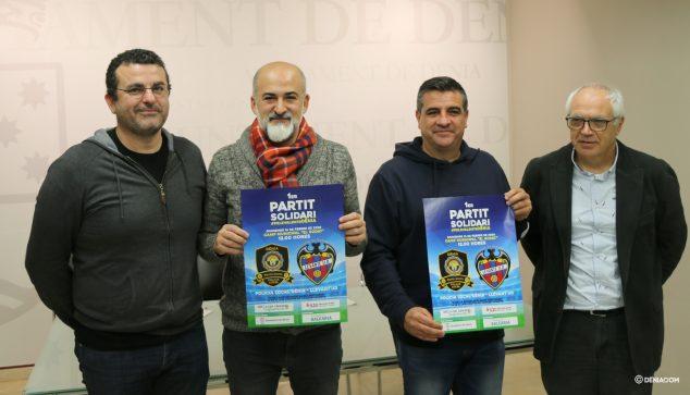 Imagen: Presentación del partido solidario Pels Valents