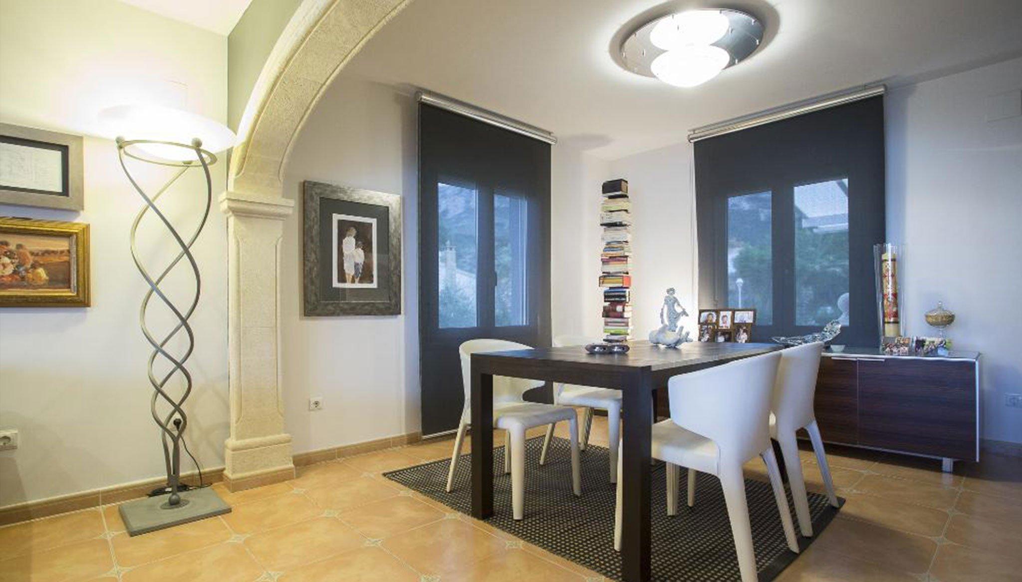 Гостиная роскошной виллы в Дении - Quality Rent a Villa