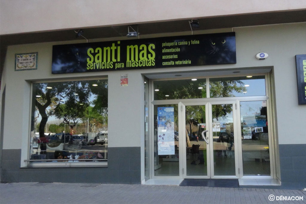 Santi Mas Facade - Pet Services