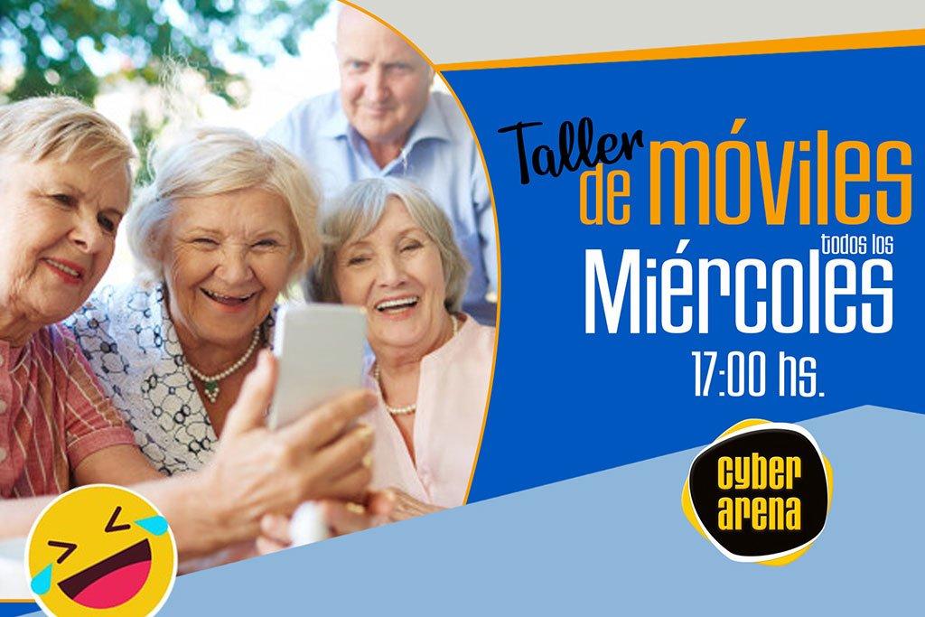 Talleres gratuitos en Dénia para que los mayores de 60 años aprendan a manejar el smartphone – Cyber Arena