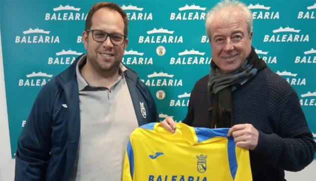 Imatge: Toni Lledó amb José Lizón